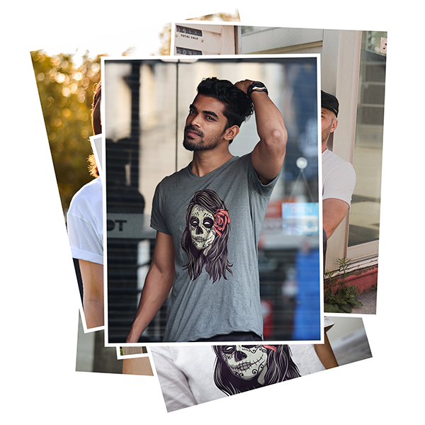 lifestyle apparel mockup images